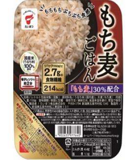 Вареный рис с ячменем