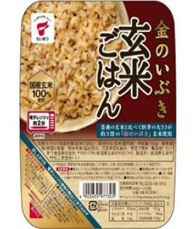 Вареный коричневый рис