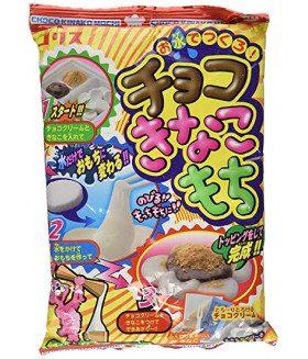 """Конфета """"Сделай сам"""" для приготовления японских сладостей """"Моти"""" с шоколадом и сладкой бобовой пудрой """"КИНАКО"""" 26 г"""