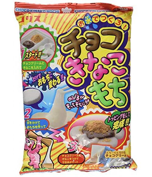 """""""Сделай сам"""" для приготовления японских сладостей """"Моти"""" с шоколадом и сладкой бобовой пудрой """"КИНАКО"""", 26г"""