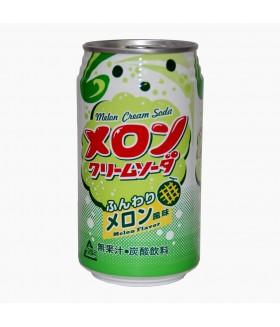 """Напиток """"Крем-сода"""" со вкусом дыни, 350мл Tominaga"""