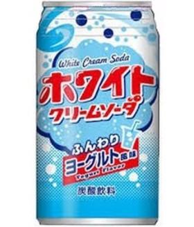 """Напиток """"Крем-сода"""" со вкусом йогурта, 350мл Tominaga"""