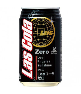 Японская  LAS  COLA ZERO, 350ml
