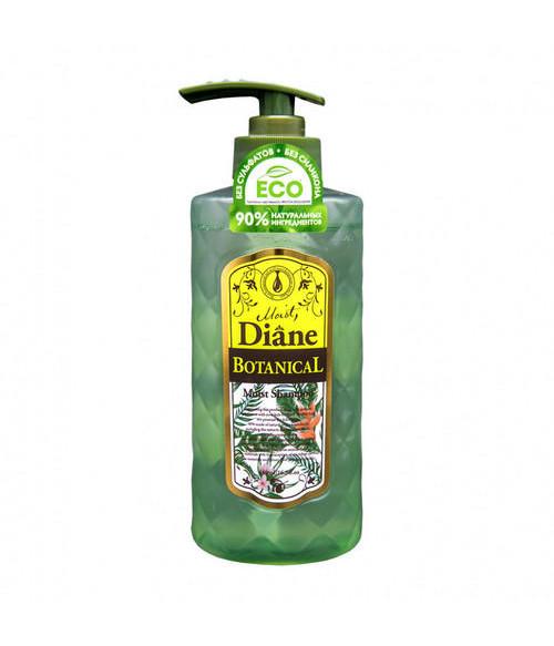 Шампунь бессиликоновый бессульфатный Увлажнение Moist Diane Botanical Moist, 480мл
