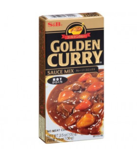 """S&B """"GOLDEN CURRY"""" соус Карри острый, 92 г"""