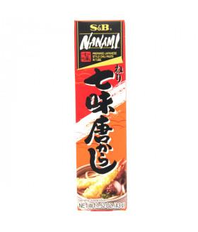 СЕМЬ ПЕРЦЕВ японский острый соус-приправа приправа  к мясным и рыбным блюдам, 43 г