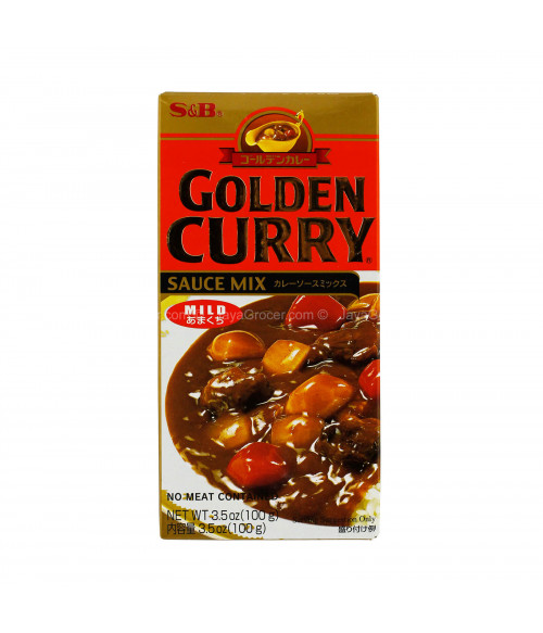"""S&B """"GOLDEN CURRY"""" Соус Карри слабо-острый, 92г"""