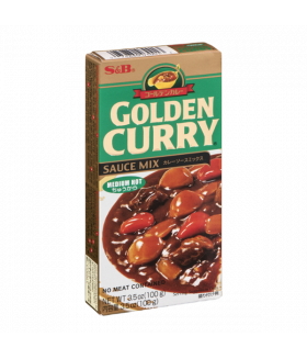 """S&B """"GOLDEN CURRY"""" соус Карри средне-острый, 92 г"""