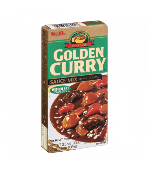 "S&B ""GOLDEN CURRY"" соус Карри средне-острый, 92 г"