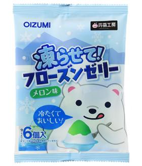 """Желе щербет """"BLUE MELON"""" со вкусом дыни, 96г ( Можно замораживать! ) Shimonita Bussan"""