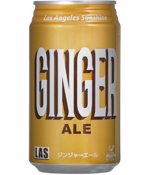 """Напиток газированный """"Имбирный эль"""", ж/банка, 350мл Tominaga"""