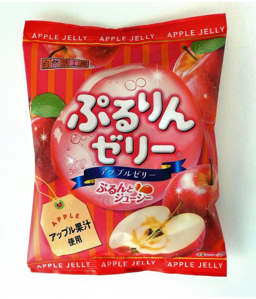 "Желе яблочное ""Яблоко"" PURIRIN, 176г Fujishyo"
