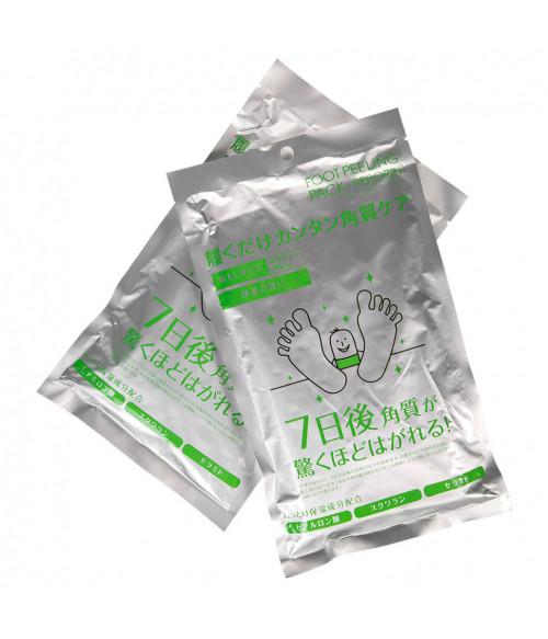 Носочки для педикюра мужские с ароматом зеленого чая, 1 пара р-р 42-47