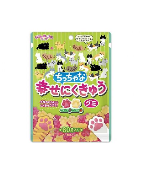 Жевательные конфеты Гуми со вкусом винограда и апельсина, СэнжякуАМЕ, 80г