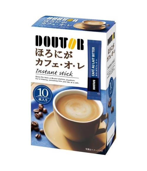Кофе ЛАТТЕ  слабо сладкий DOUTOR  MAROYAKA Cafe au lait (10 стиков) крепкий вкус, 70г Doutor Coffee