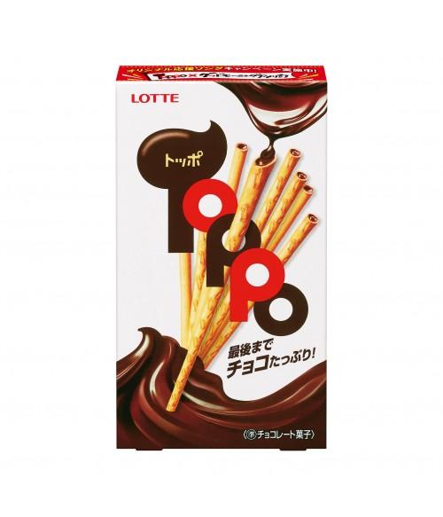 """Соломка с шоколадной начинкой """"Лоттэ Топпо"""", 72г"""