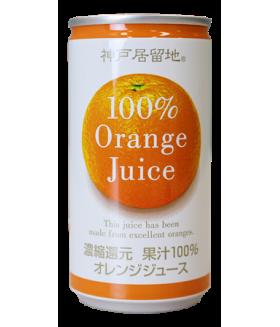 Сок апельсина натуральный, ж/банка, 185гр