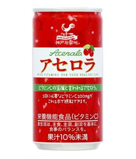 Напиток с ацеролой, 185г Tominaga