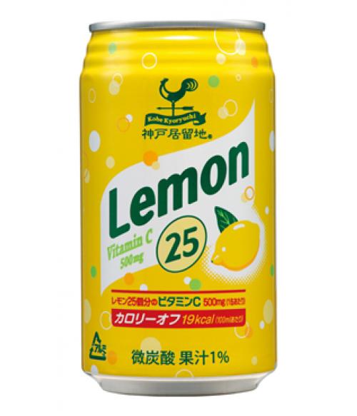 """Напиток газированный с лимонным соком """"25 лимонов"""", ж/банка, 350 мл"""