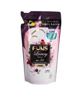 FUNS Кондиционер для белья с ароматом грейпфрута и черной смородины (запасной блок), 520 мл
