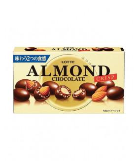 ALMOND  Mиндаль в шоколаде с криспи, 89г LOTTE