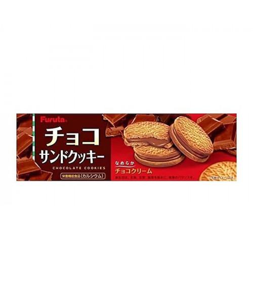 Печенье сливочное с шоколадным кремом, 87г Furuta