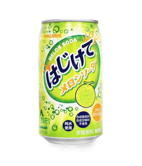 """Напиток газированный шипучий """"HAJIKETE Melon Cider"""" (дыня), 350г SANGARIA"""
