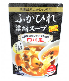 """Японский концентрированный суп из акульих плавников в стиле """"Сычуаньская кухня"""",  200г KESENNUMA"""