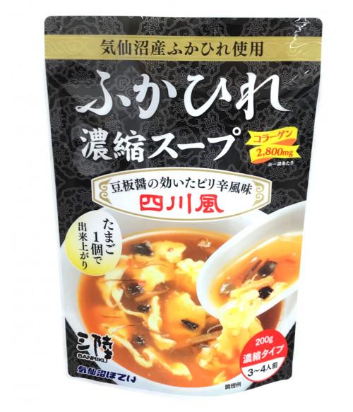 """Японский концентрированный суп из акульих плавников в стиле """"Сычуаньская кухня"""",  200г"""