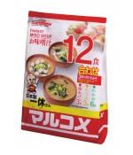 """Суп-мисо """"Иккю"""" быстрого приготовления, 12 пакетов, 222 г"""
