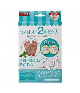 Носочки для педикюра с ароматом мяты, 2 пары SOSU р-р 35-42