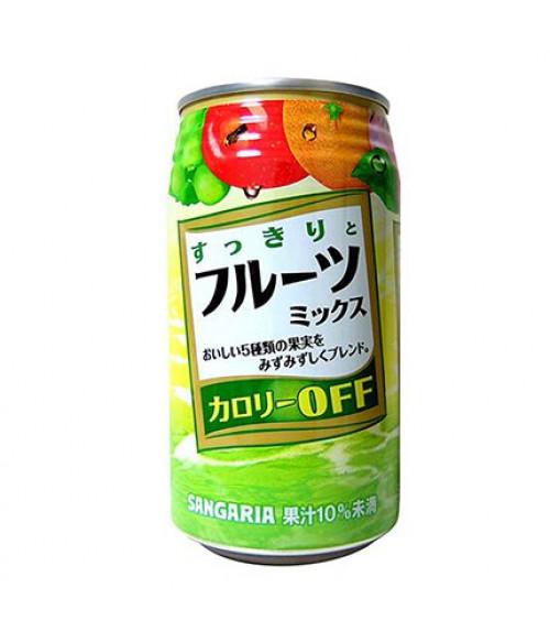 """Напиток Фруктовое Ассорти """"SUKKIRI MIX"""", с пониженным содержанием калорий, 340г SANGARIA"""