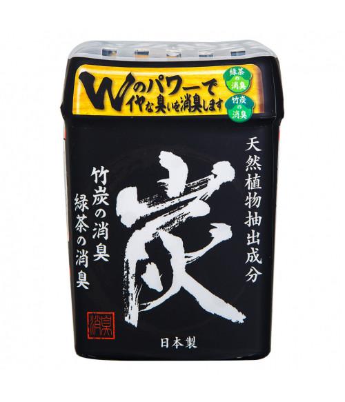 Поглотитель запаха гелевый с бамбуковым углем и зеленым чаем, 320г