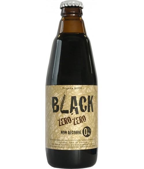 Черное безалкогольное пиво, 350мл Niigata Beer