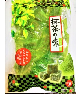 Конфеты желейные Агар-агар со вкусом чая мачча. 200гр