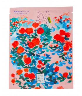 """Charley Bathroom Соль-саше для ванн """"Сад цветущих роз"""" с ароматом розы, 30г"""