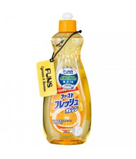 FUNS Жидкость для мытья посуды овощей и фруктов свежий апельсин