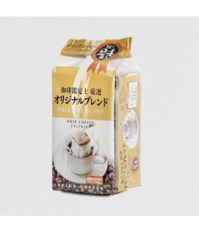 Японский натуральный молотый кофе в дрип-пакетах Original BLEND  (24п.по 8 гр.), 192г SEIKO