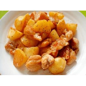 Курица с картофелем под майонезным соусом (3 порции)