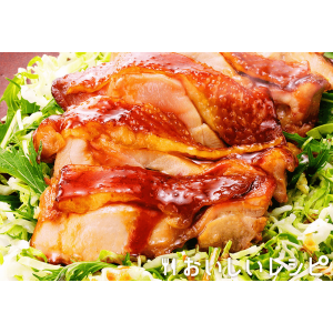 Сочная жареная курица терияки (2 порции)