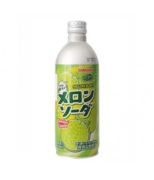 """Напиток газированный """"Melon Soda"""" (дыня), 500г SANGARIA"""