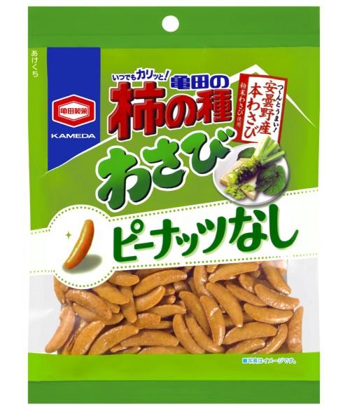 "Крекеры рисовые ""Kakinotane"" с васаби, 115г Kameda Seika"