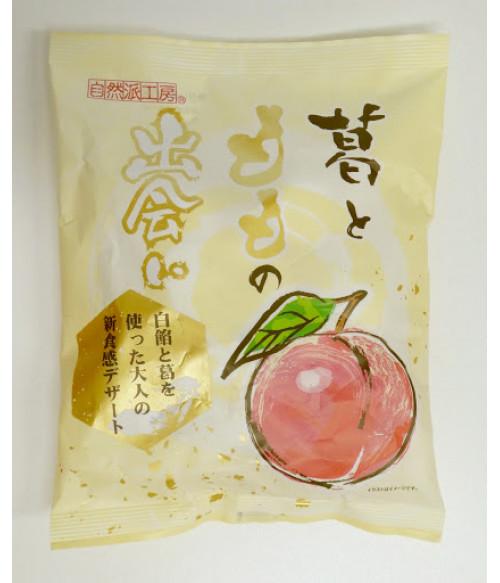 "Желе персиковое ""МОМО"" с Пуэрарией, 147г Fujishyo"