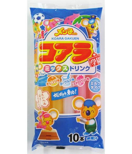 """Напитки фруктоввые Крем-сода """"MILK KOALA GAKUEN MIX"""", 450мл Akiyama"""
