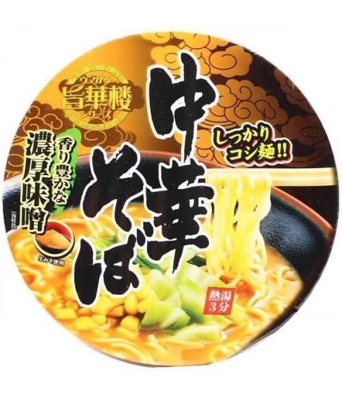 """Умакару"" Лапша в китайском стиле  со вкусом мисо (стакан), 105г Yamamoto Seifun"